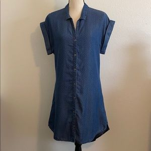 Kenneth Cole Reaction Chambray Shirtdress - NWT